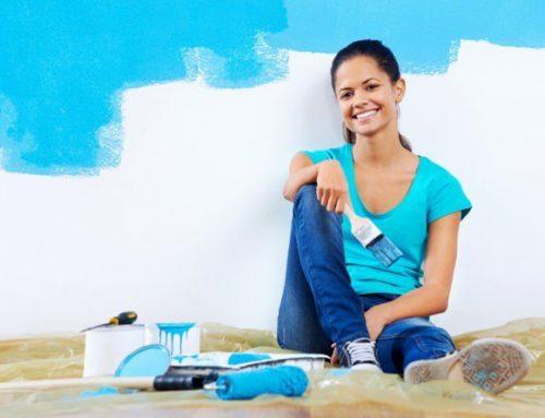 Renueva la pintura de tu casa ¡Tú misma!